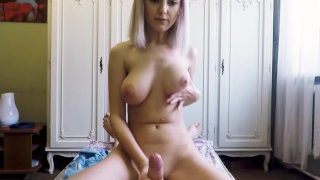 Step sister made her brother cum just before mom came home!