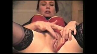 Horny MILF Masturbating on Camera